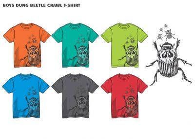 boys dung beetle t-shirt