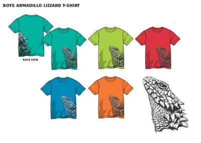 boys lizard t-shirt