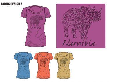 African Dream Namibian Ladies T-Shirt-02