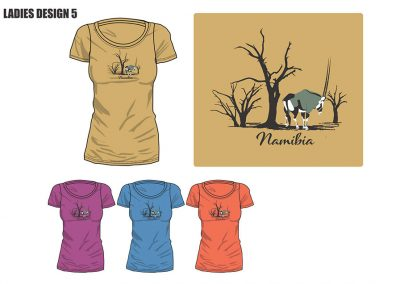 African Dream Namibian Ladies T-Shirt-05