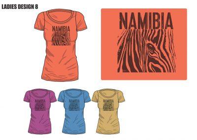 African Dream Namibian Ladies T-Shirt-08
