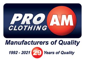 Pro AM Clothing
